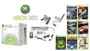 Xbox 360 Ultimate Premium Gold Video Game  - 7 Games, 2 Wireless Controllers + Wireless Network Adap