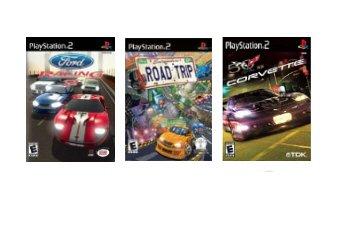 PS2 Racing Game Combo - 3 Great Racing Games