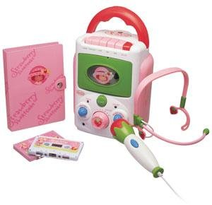 STRAWBERRY SHORTCAKE Sing-A-Long Cassette Karaoke Recorder / Player