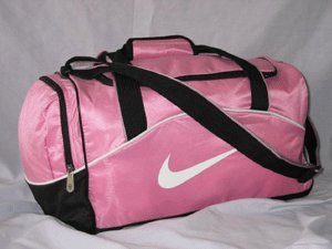Pink Nike Mini Duffel Bag