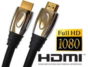 Best HDMI Cable For PS3 Xbox 360® HDTV 1080p - 6ft / 2m Cord - Premium Quality