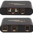 PC VGA + Audio To HDMI Adapter / Converter Box - For Connecting To Digital TV / Monitors