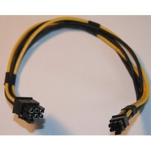 PCIe Power Cable For Mac® nVidia ATI Video Card - G5 / Pro Intel PCI-E / Express Cord