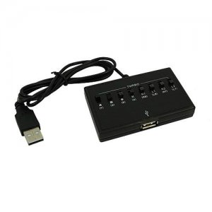 USB Adapter For Xbox 360® Controller to PS3 With Rapid Fire