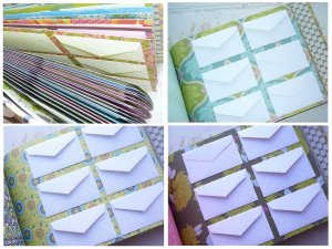 "Custom Envelope ""Wedding Wishes"" Guest Book"