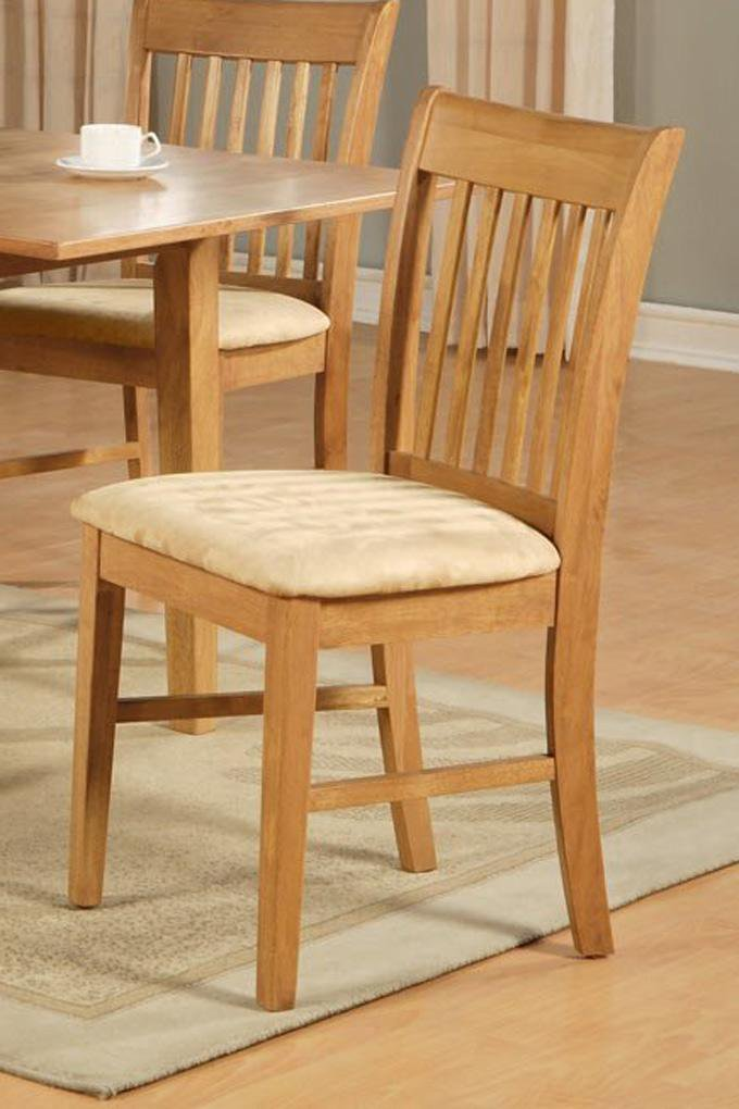 1 Norfolk Dinette Kitchen Dining Chair With Cushion Seat