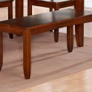 """Lynfield Dinette Dining Bench in Espresso L48""""xD16""""xH18"""". SKU: LY-WB-ESP"""