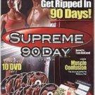 Reduced!! As Seen On TV Supreme 90 Day System 10 DVD Set w/Bonus DVD NEW! Sealed!
