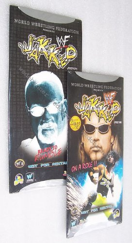 WWF Jakked Metal Wrestling TV Show VCDs - 6 Hours Running Time - Free Shipping To All Countries