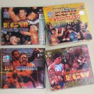 ECW 4 VCDs - Wrestlepalooza (1998), November to Remember (1998), Living Dangerously (1998 & 1999)