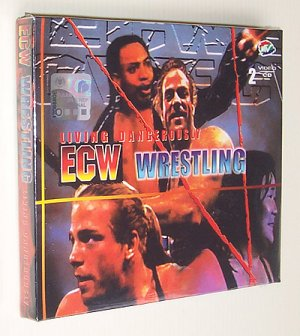 ECW Living Dangerously (1998) VCD - New & Sealed - Free Shipping Worldwide
