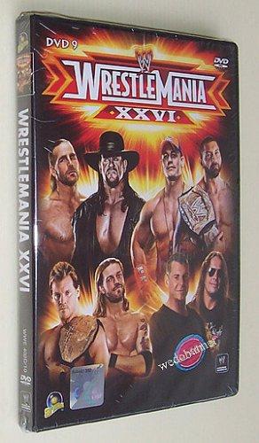 WWE Wrestlemania 26 XXVI 2010 DVD - Free Shipping To All Countries