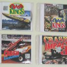 4 VCDs of Cars Crash, Bikes Crash, Boats Crash - Free Shipping To All Countries