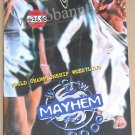 WCW Mayhem (2000) PPV VCD - New & Sealed - Free Shipping Worldwide