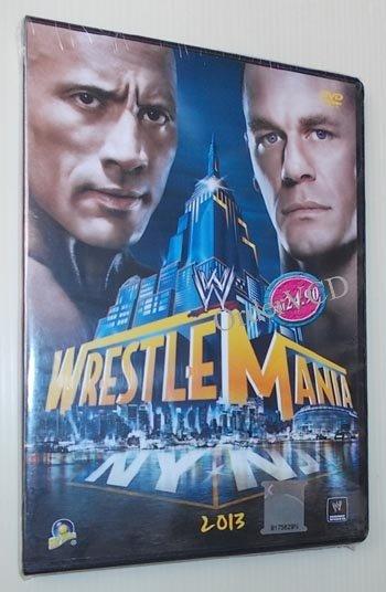 WWE Wrestlemania 2013 PPV Wrestling DVD - New & Sealed. Free Shipping
