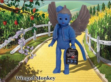 NIP Madame Alexander McDonald's Wizard of OZ #3 Winged Monkey