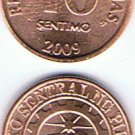 Philippines 10 Centavos 2009 3 Coins Lot UNC/AU
