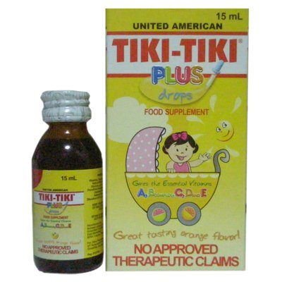 Tiki Tiki Vitamins United American Supplement Filipino
