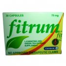 FITRUM Green Tea Extract SAFE LOOSE WEIGHT LOSS PILL  30 capsules / box