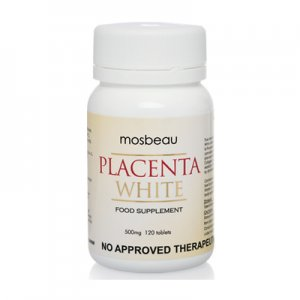 Mosbeau Placenta White Whitening Supplement Pills 60 Capsules FREE SHIPPING