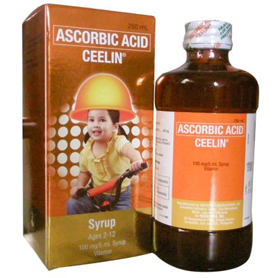 120ml Bottle Ceelin Vitamin C Syrup Nutritional Sup. 2-12 YRS Medium