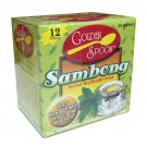 4 Boxes of Sambong Herbal 48 Individual Teabags 100% Natural Cold Fever Anti-diarrheic/gastralgic