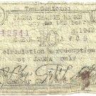 Philippines BOH 472 2nd Municipal Issue RARE ERROR s.1943 Bohol Province Jagna