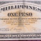 1944 Philippines One Peso Victory Issued Note 100% Free Shipping Serial F70082265