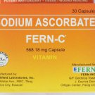 FERN-C Non-Acidic ALKALINE Super Vitamin C 1 Month Supply 30 Capsules