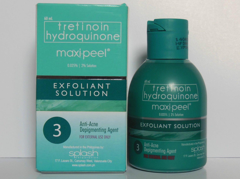 maxipeel antiacne depigmenting exfoliant level 3 severe