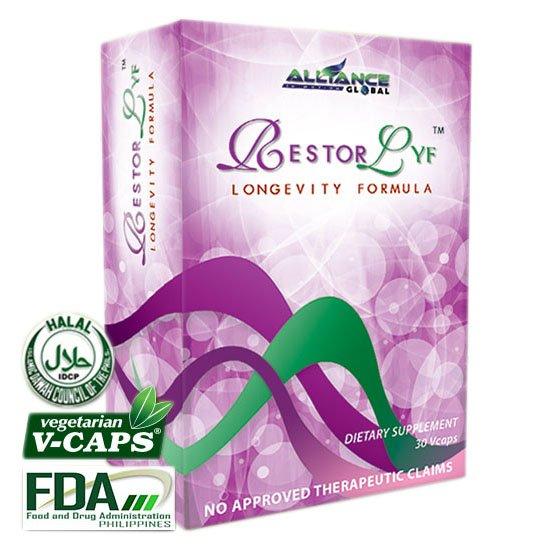 Restorlyf Longevity Anti-Aging Dietary Supplement 90 Capsules FREE SHIPPING