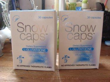 Snow Caps L-Glutathion Capsules 60 With Alpha Lipoic and Vitamin C
