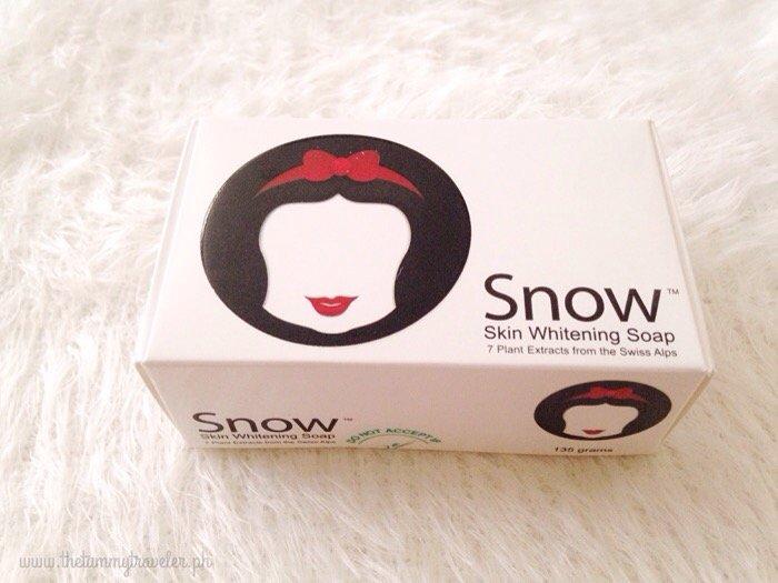 3 Large Snow Skin Whitening Soap, Natural Lightening Soap, Gigawhite + ACE-B3