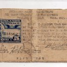 Philippines Tuao June 1 1942 2nd Issue S168 CAG-118 5 Pesos ONLY 3,000 PRINTED