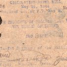 Philippines 1944 Brooke's Point PALAWAN 2 Pesos S937x WW2 Paper Bill Scrip Note