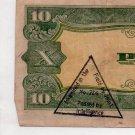 Philippines 10P Japanese Invasion Money P111 C/S ALLIED War TROPHY Intelligence