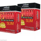 2 Boxes Burn SLIM Dietary Supplement 60 Tablets AIM Global by Weider EFFECTIVE