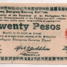 PHILIPPINES Negros Emergency Banknote 1945 20 Pesos S685 White Paper AU/UNC Nice