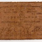 Philippines 1943 Jagna Bohol 5 Centavos WW2 Municipality BOH-471 Note SCARCE