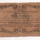 Philippines 1943 Mindanao 5 Pesos Emergency 1st Issue S487d C/S CUERPO Signature