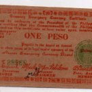 Philippines Commonwealth Seal WW2 Negros S673  One Peso Emergency Banknote AU
