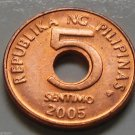 2005 5 Sentimo Philippines Coin  Uncirculated KM# 268