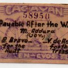Philippines1942 ND Cagayan Emergency S180 10 Centavos Emergency WW2 Banknote XF