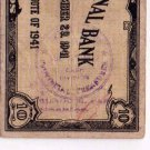Philippines Emergency Cebu S217 1941 10 Pesos CS Municipal and Provincial Treas.