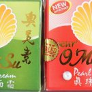 X6 Oseur O Mei Su Pearl Paste Red or Green Pods Eliminates Freckles Rashes Acne