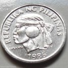 Philippines1986 10 Sentimo coin km238 Aluminum Shell Condition 80k Minted