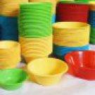 Puto Pichi-Pichi Rice Cake Kutsinta Plastic Molds Steaming Cups SMALL X 15