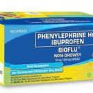 BIOFLU Tablets Cold Flu Medication Decongestant Allergy x30 Non- Drowsy