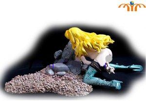 AnimeGirl Action Figure, In Box!
