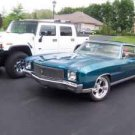 Custom 1971 Chevy Monte Carlo